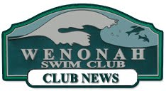 Wenonah Swim Club - Club News