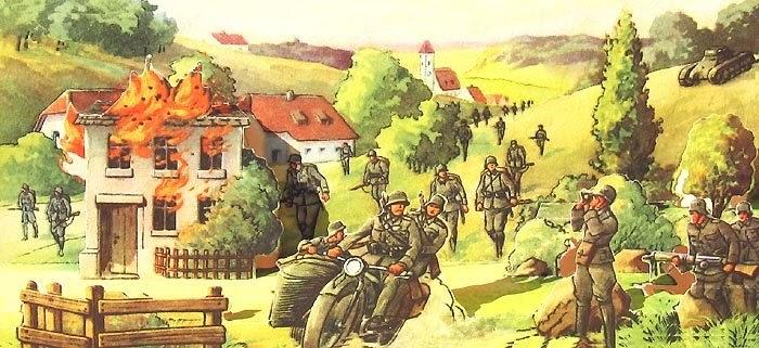 Libros Pop-Up Books Cards: Libro Pop-Up Nazi para Niños