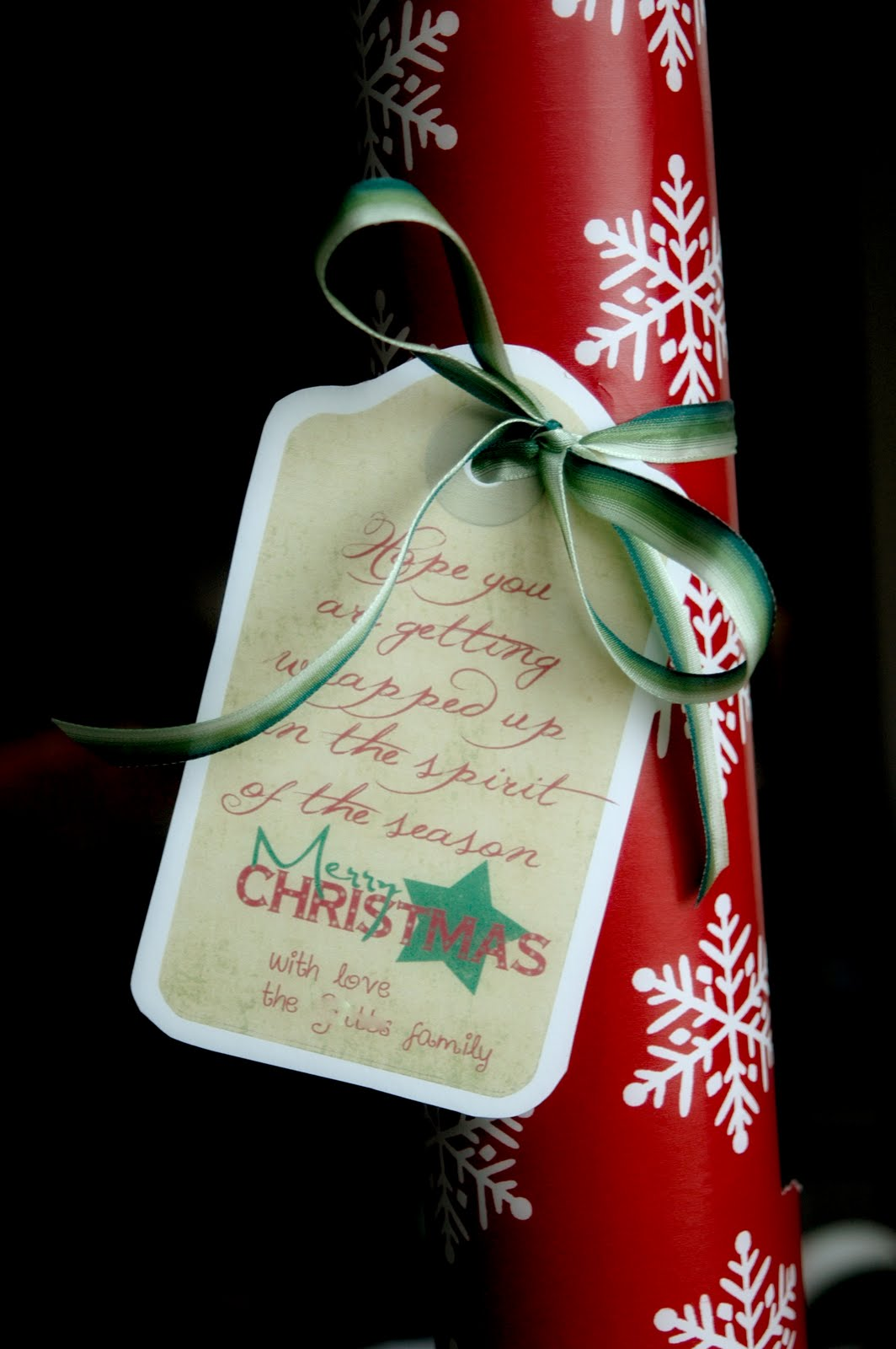Nannygoat neighbor gift ideas for Paper christmas gifts