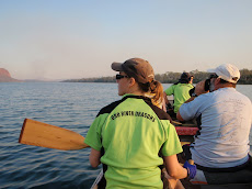 Dragon boat training