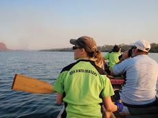 Dragon boat training