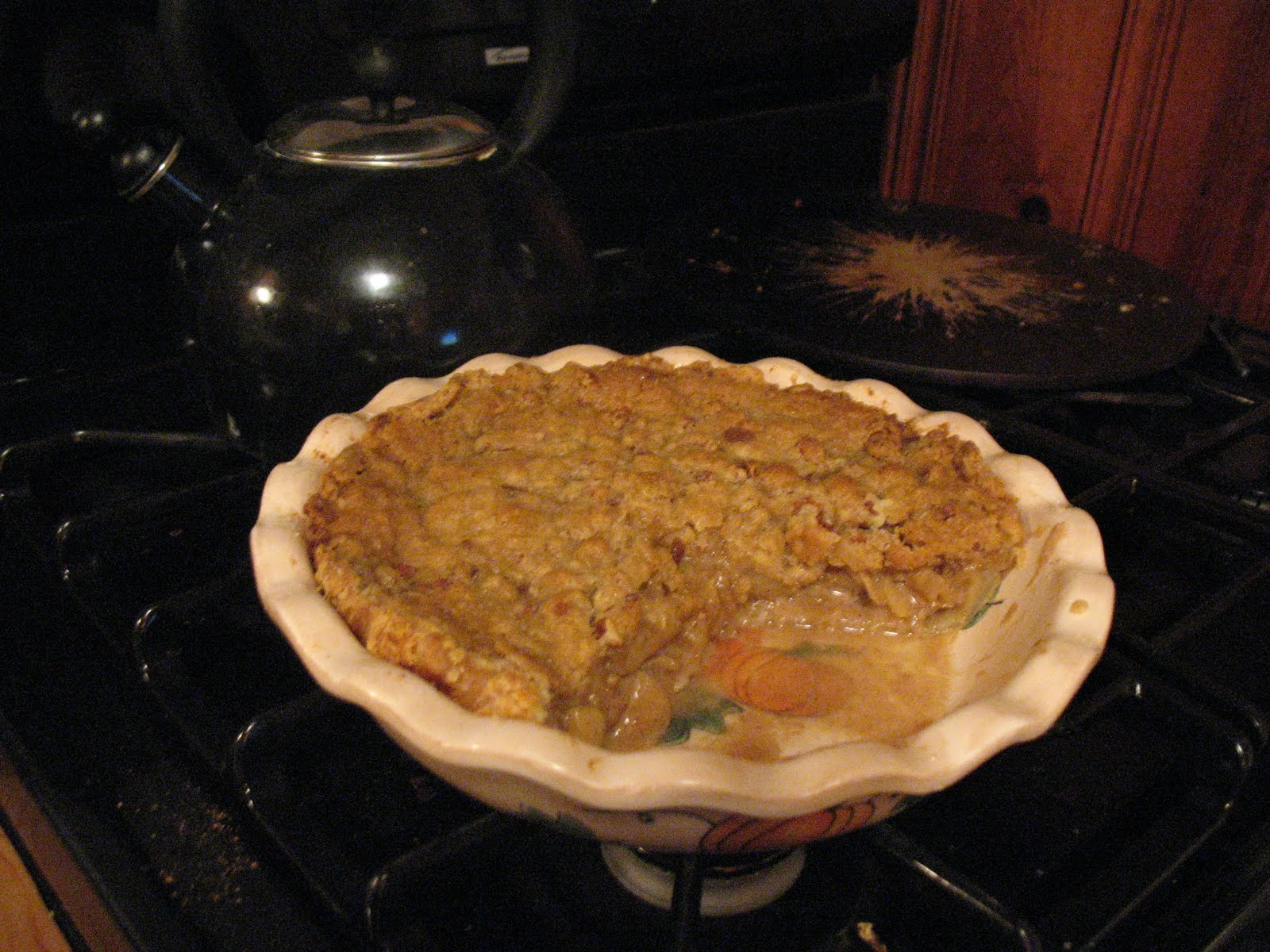 Sherry Starts Cooking: (The Big) Apple Crumble Pie