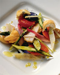 verdure in crosta di sale, verdure, ricetta, ricetta verdure in crosta di sale, crosta di sale