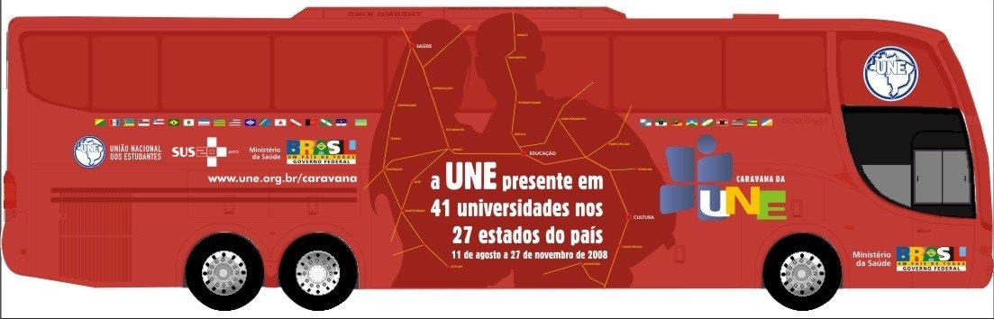 CUCA na Caravana da UNE - Saúde, Educação e Cultura