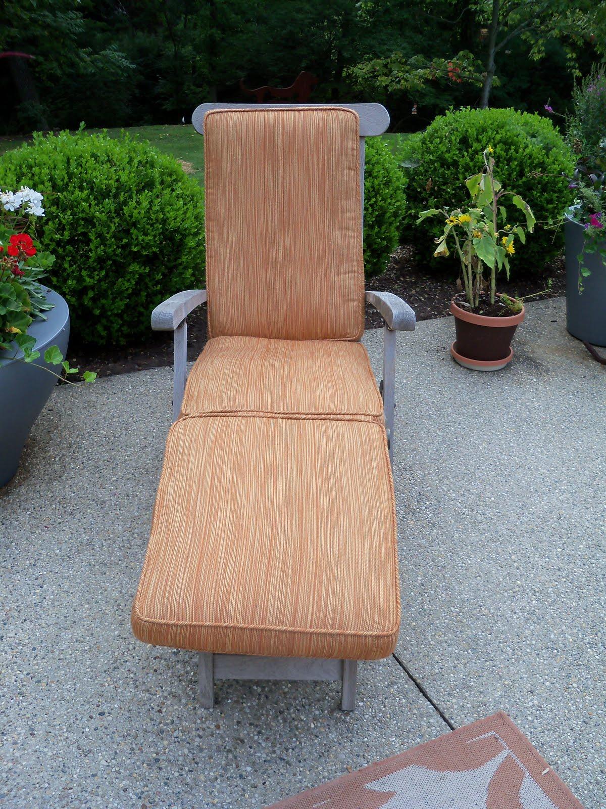 Chaise lounge cushions for Chaise cushion slipcover