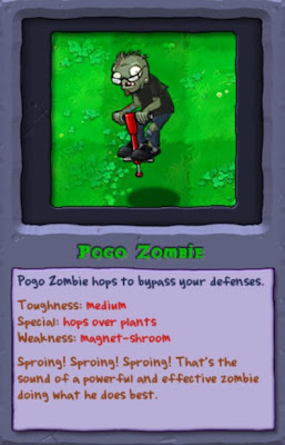 plants vs. zombies, pogo zombie, resigned gamer