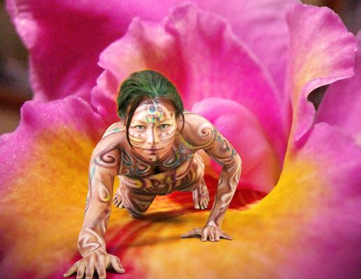 Amazing Body Painting, Amazing Painting Wallpapers, Tattoo Bodypainting