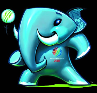 Stumpy:Cricket world cup 2011 mascot