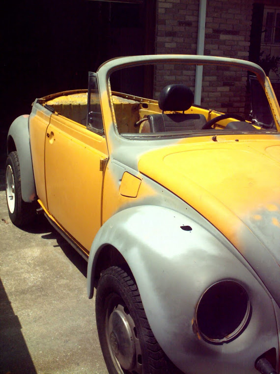 1978 VW Beetle Convertible Project