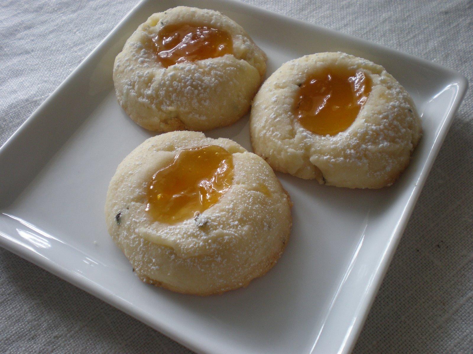 Madison Dinner Club: Rosemary Apricot Thumbprints - April ...
