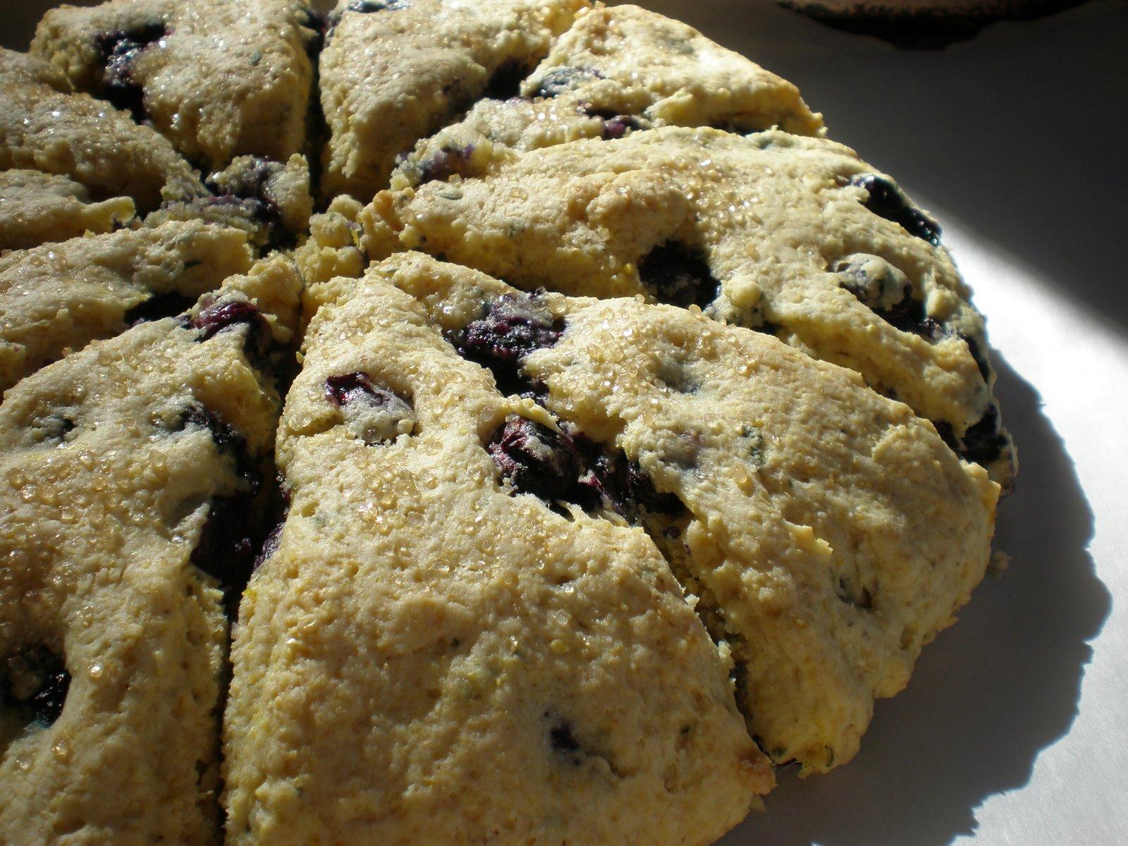 Madison Dinner Club: Blueberry-Sage Cornmeal Scones - July ...