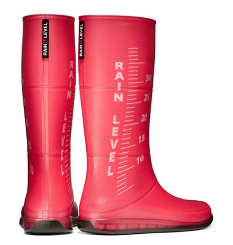 Design thoughts life rain level boots creative for Creative product design