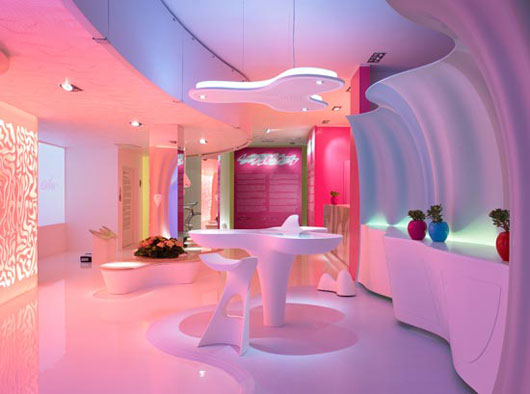 ... Iu0027m really uncertain that what he is doing is something more than just  trendy design  I just canu0027t imagine someone living there... But have a look. & Design. Thoughts. Life.: Futuristic interior design by Karim Rashid