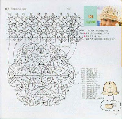 Вязание крючком схемы и модели детям шапок 59
