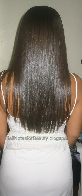 Waist Length Hair http://hellnotesforbeauty.blogspot.com/2010/08/waist-length-challenge-august-check-in.html