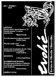 Evohé: Revista de Filosofía Villarrealina (2010)