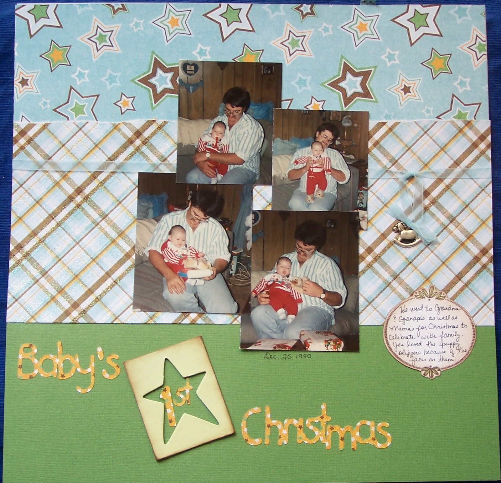 Scrapbook ideas abc album - It Has Made This Album Such A Cinch To Pull Together And Such Fun I Added A Lil Metal Rocking Horse Charm And Some Abc Block Buttons To The Layouts Along