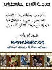 الشارع الفلسطينى
