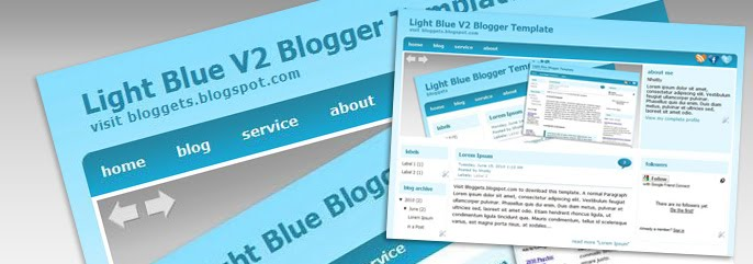 Blogger Template Preview
