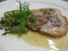 Coniglio in Porchetta con Fave