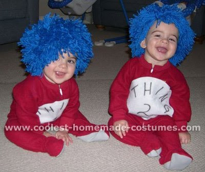 hanna beth merjos and andy sixx. Thing 1 And Thing 2.