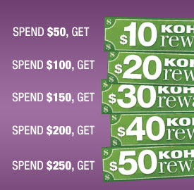 Safeway: Earn FREE Kohl's Rewards 11/4-11/8