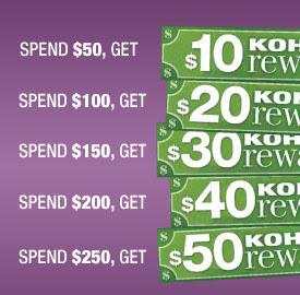 Safeway: Earn FREE Kohl's Rewards11/4-11/8