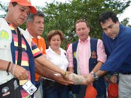PRIMERA PIEDRA CONSTRUCION DE LA CAPILLA