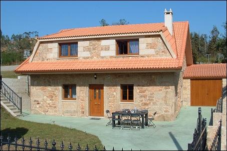 Casas completas galicia alquiler de vacaciones casa de - Casa madera galicia ...