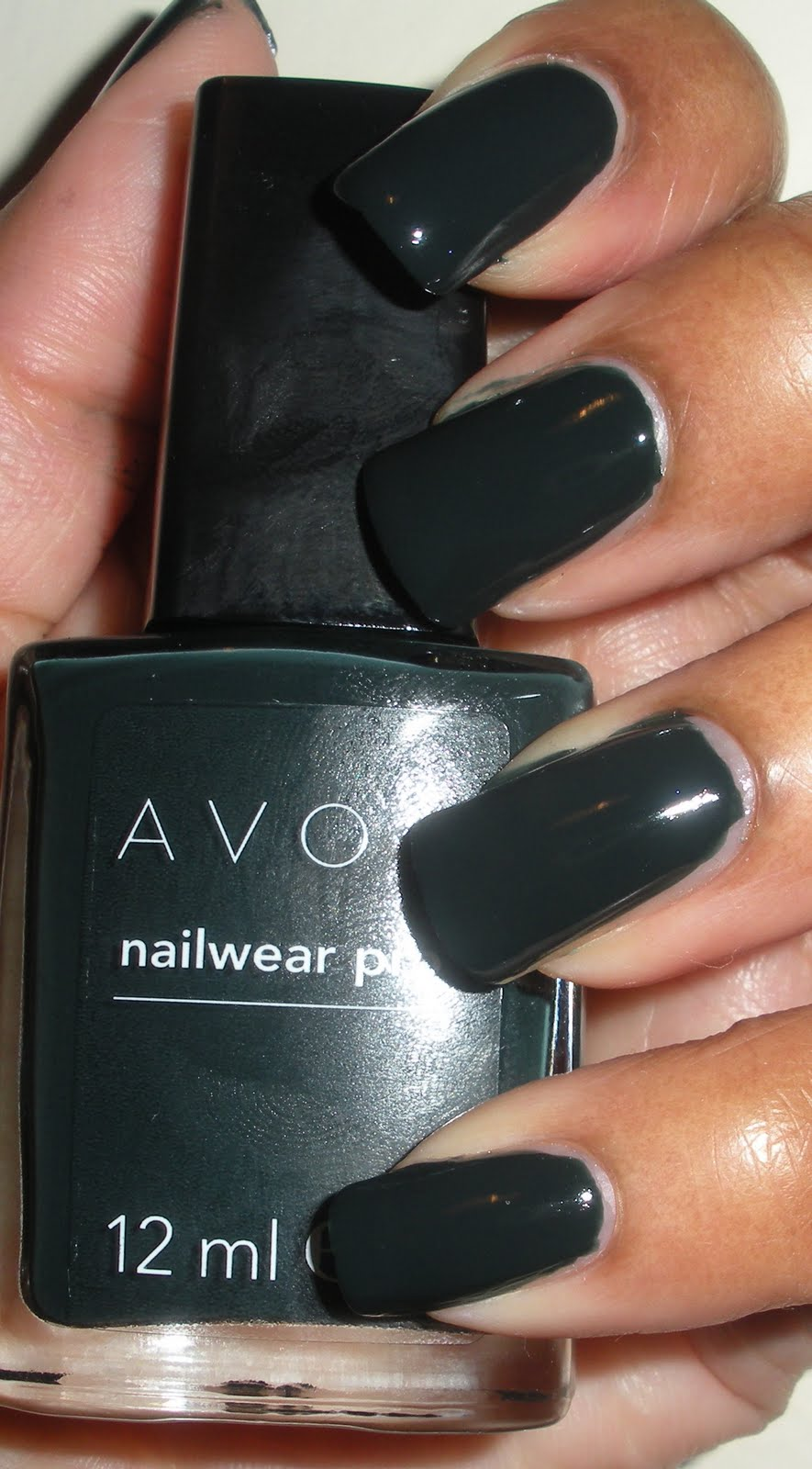 For the love of nails...: Avon.. Green with envy (uk name)