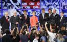 Democratic presidential candidates take questions at the South Carolina debates