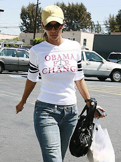 Halle Berry rocks the paparazzi with her Barack Obama style