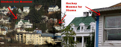Support for Obama-Biden in Juneau, Alaska right next to Sarah Palin Governor's mansion - Photos courtesy of Today's Special