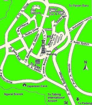 Bukittinggi Maps
