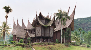 Rumah Gadang in Minangkabau