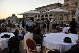 bailando en hotel Port Adriano