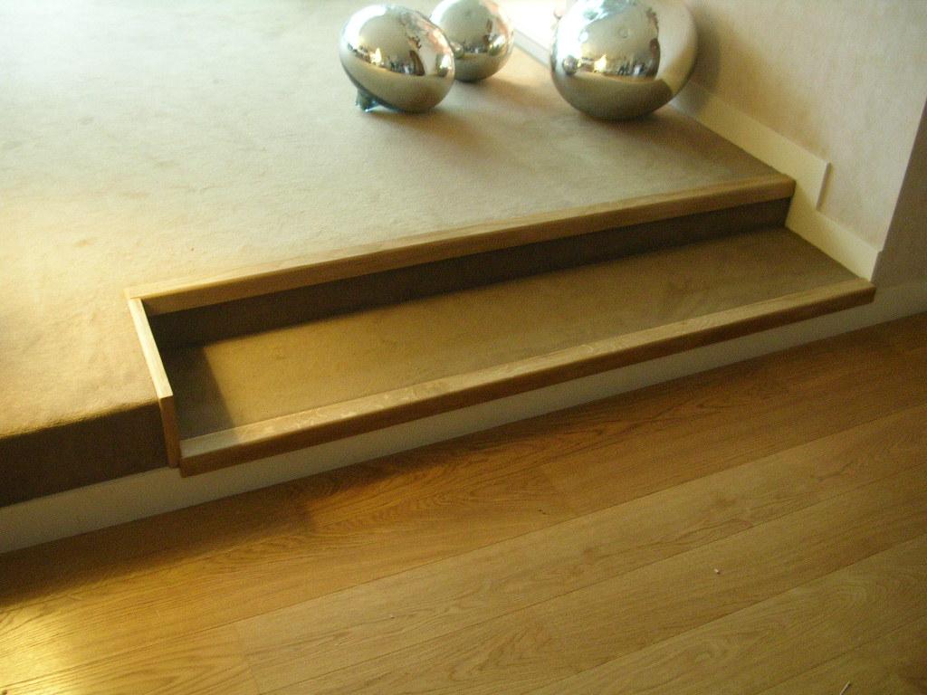 bruno travaux pose de nez de marche en ch ne fil de la. Black Bedroom Furniture Sets. Home Design Ideas