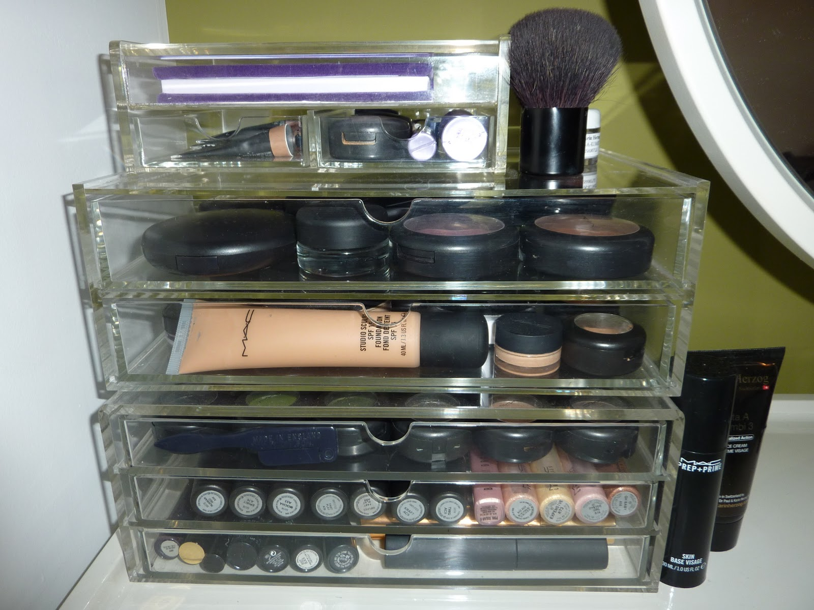 StyleFrost: Interior Style & Beauty: Make-up Collection & Storage