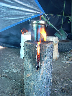 35+ Camping Tips, Tricks & Treats Finland+stove+028