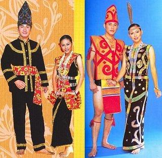 Kadazan Traditional Clothes