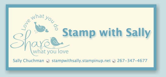 Stamp with Sally