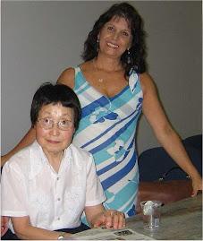 Constance Kamii e eu