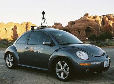 автомобиль с камерой для Street View