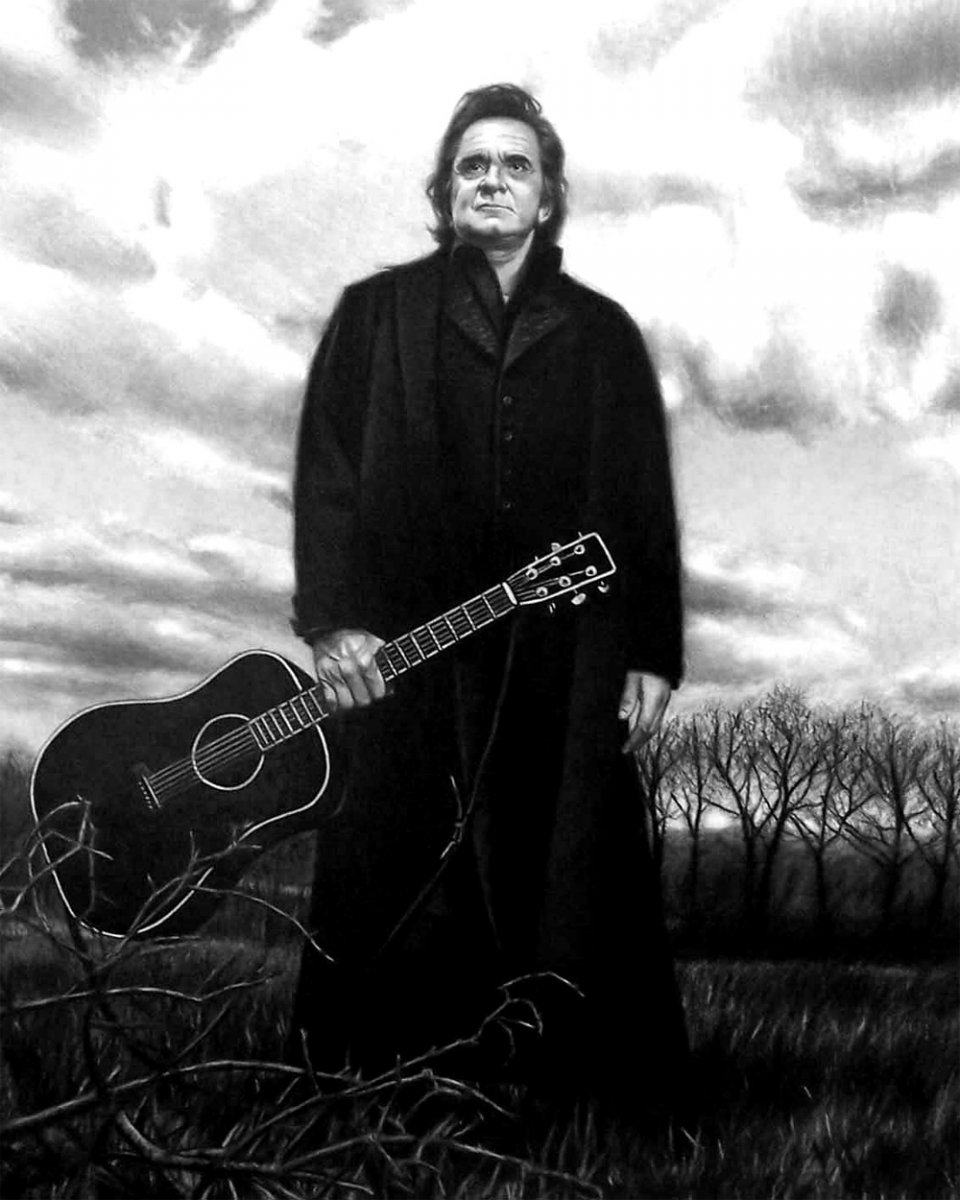 Johnny Cash Anillo De Fuego