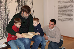 Sharing one of the Martin Luther Bibles with the Next generation in Worms
