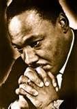 MLK Jr. in prayer