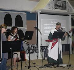 Joe and the youth in biblical costume