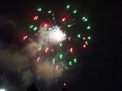 Fireworks in Little Rock