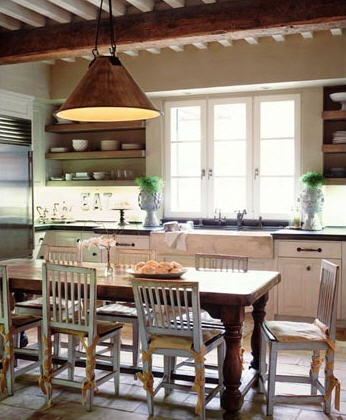 D cor de provence lake house favorites for Lake house kitchen designs