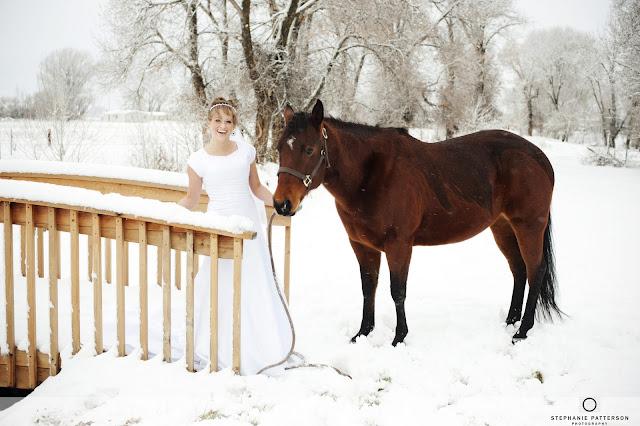 JennaBridals Blog23 Jenna ~ Winter Bridals ~ Idaho Wedding Photoraphy